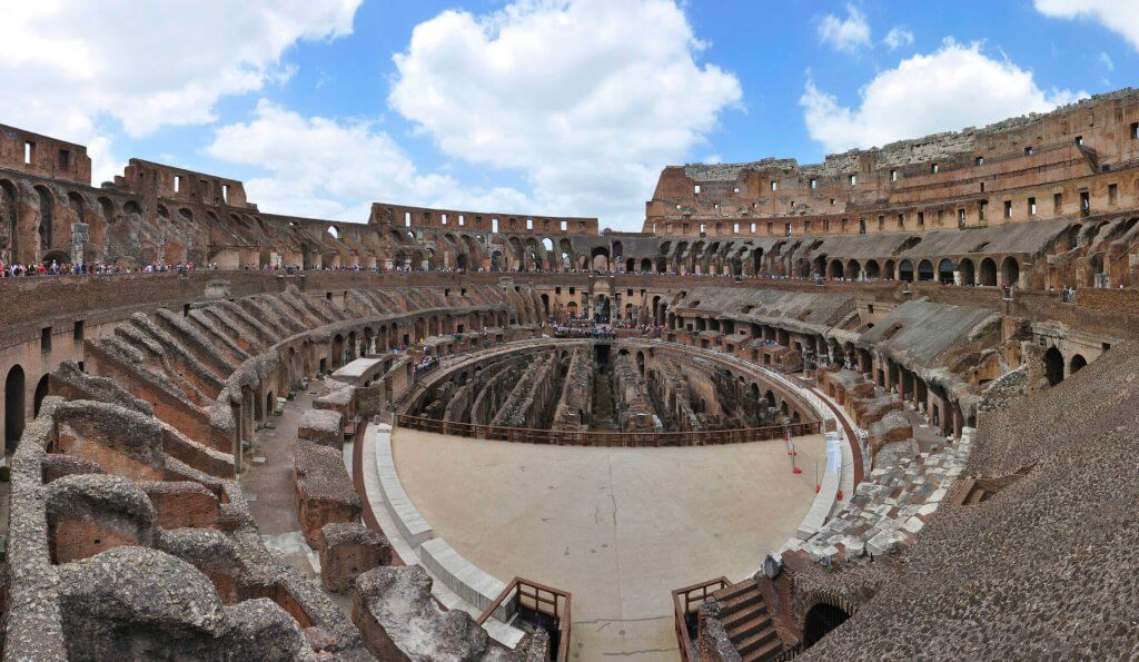 colosseum rome inside tickets
